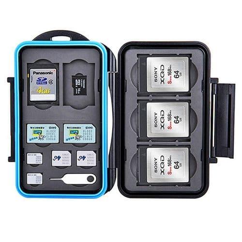 Boîtier Caisson Carte Mémoire Flash Protection Etanche SD XQD micro SD SIM Nano
