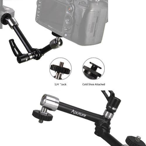 """Bras Articulé 10"""" Sabot pour Ecran LCD Lampe LED DSLR Dolly Caméra Photo"""