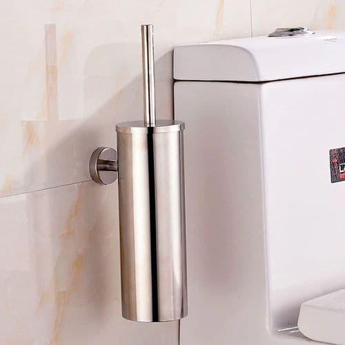 Brosse De Toilette En Acier Inoxydable Design Créative Avec Support