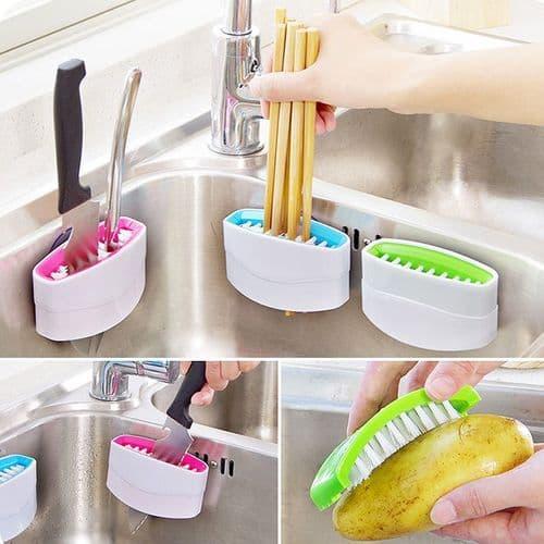 Brosse nettoyage Couteau fourchette cuillière fourchette ustensile de cuisine