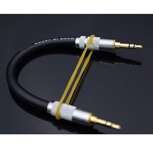 Câble Audio Stéréo Mini-Jack 3,5mm A 3,5mm Mâle 3 Points Casque Audio Aux