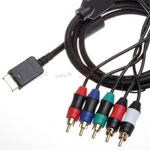 Câble Composante YUV Y/Pr/Pb Haute Définition pour la Console Sony PlayStation PS3