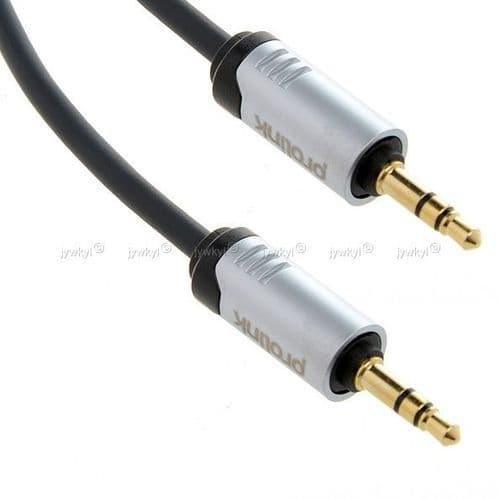 Câble Extension Rallonge pour Ecouteur Mini jack 3,5mm Audio Mâle à Mâle 1m