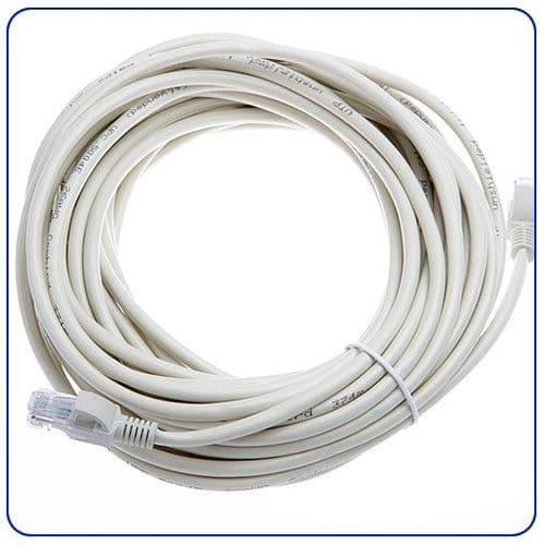Câble Réseau Ethernet LAN RJ45 CAT5e CAT5 CAT 5 5e 10 Mètres