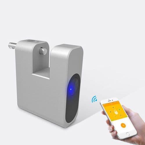 Cadenas Anti-Vol Smart Control Bluetooth App Pour Sac De Bagages Valise Casier