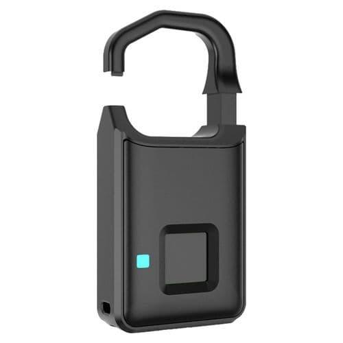 Cadenas À Empreinte Digitale Antivol Intelligente Pour Bagage Valise Casier