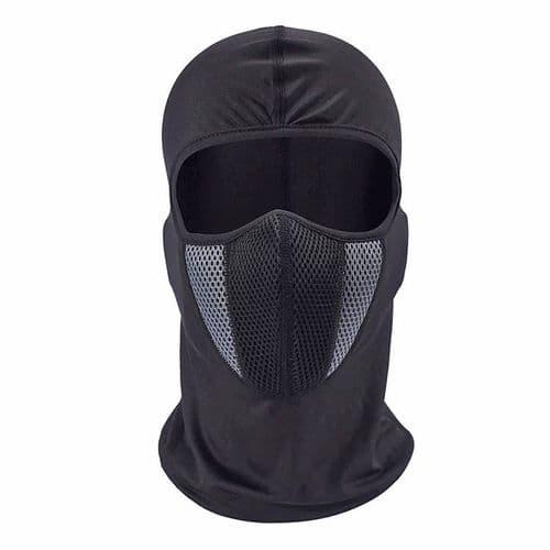 Cagoule Moto Masque Facial Cou Respirant Intégral Moto Masque De Motocross