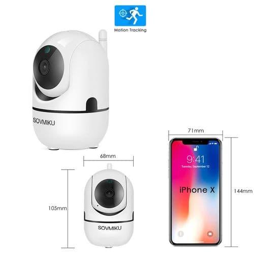 Caméra 1080P Ip Wi-Fi Ip Surveillance Intelligente Sécurité Automatique Sans Fil