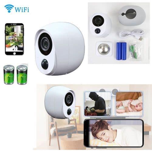 Caméra Surveillance De Sécurité Avec Batterie Caméra Ip Extérieure Étanche
