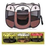 Chenil Portable Pliable Animal De Companie Tente Chien Opération Facile Taille M