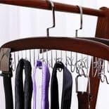 Cintre De Rangement Pour Vêtements Écharpe Cravate Ceinture 12 Crochets