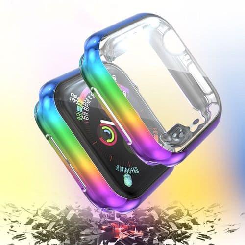 Coque De Protection D'Écran Pour Apple Watch Modèle 44Mm Série 4 5_Pu