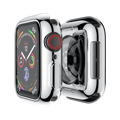 Coque De Protection En Silicone Pour Apple Watch Modèle 40Mm Série 4 5_Sl