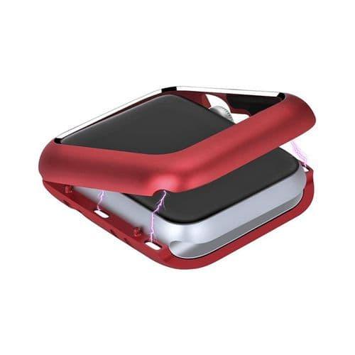 Coque De Protection Magnétique Pour Apple Watch Modèle 44Mm Série 4 5_Rouge