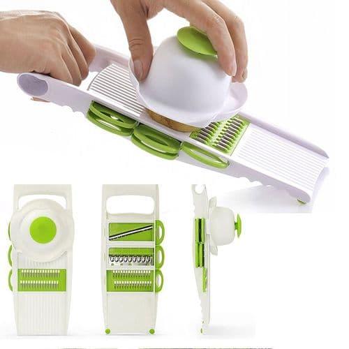 Coupe-Légumes De Cuisine Multifonctions Trancheur Sliceur Râpeur Accessoires