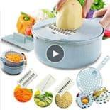 Coupe Oignons Carottes Pommes De Terre Râpeur De Légumes Avec Passoire