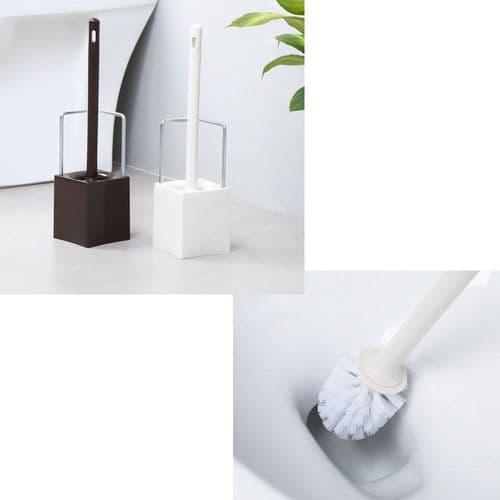Ensemble Brosse De Toilette Et Base De Support Design Contemporain