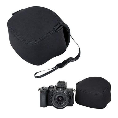 Etui En Néoprène Pour Appareil Photo Sans Miroir Et Objectif Nikon Z50 + 16-50Mm