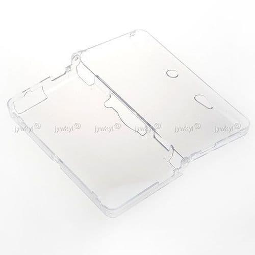 Etui Housse Coque Cristal Transparent pour Console de Jeux Nintendo 3DS