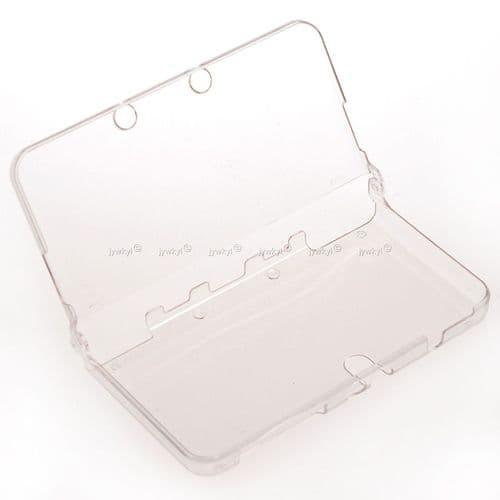 Etui Housse Coque Rigide PVC Cristal Transparent Console Jeux Nintendo New 3DS