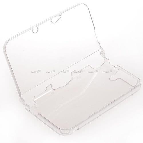 Etui Housse Coque Rigide PVC Cristal Transparent Console Jeux Nintendo New 3DSLL