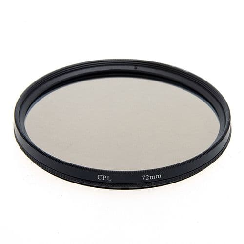 Filtre Polarisant Circulaire CPL pour Objectif 55mm