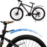 Garde-Boue De Vélo Pliant Télescopique Avec Feu Arrière Garde-Boue Avant Arrière