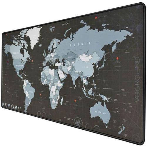 Grand Tapis De Souris Bureau Ordinateur Caoutchouc Naturel 300X700X2Mm Monde