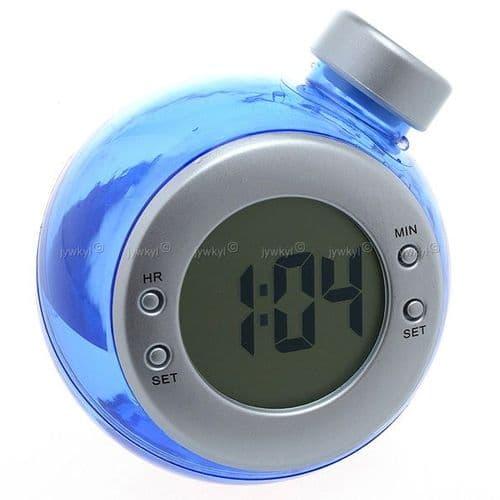 Horloge de Bureau Ecologique Alimenté par de l'Eau  H2O Naturel Sans Pile