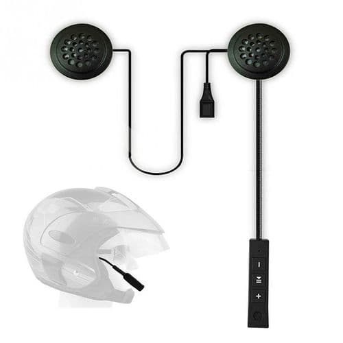 Intercom Anti-Parasitage Bluetooth Pour Casque De Moto Appels Mains-Libres