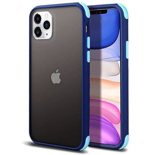 Ip211_Coque Protection Mobile Pour Iphone 11 Pro Max_Mat Transparent Silicone