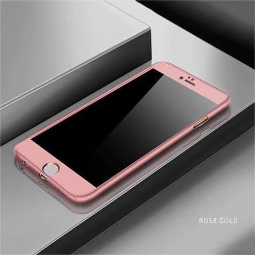 Ip275_Coque De Protection Pour Iphone SE 2020_Mat TPU Avec Film Verre Ecran