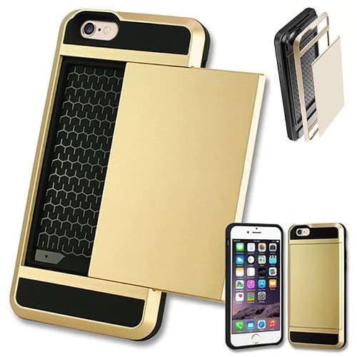 Ip319_Coque De Protection Pour Iphone XS Max_Porte Carte Crédit Anti-Choc