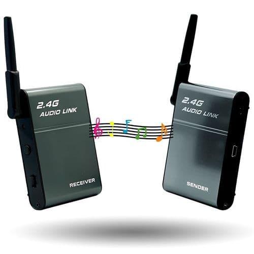 Kit 2.4G Adaptateur Bluetooth Récepteur Transmetteur Hi-Fi Sans Fil Audio System
