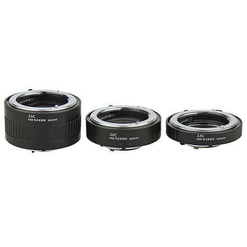 Kit Tube Extension12mm 20mm 36mm Bague Macro pour Monture Nikon F-Mount