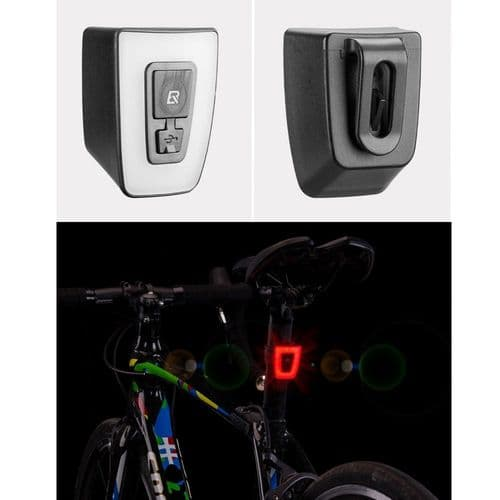 Lampe De Vélo Feu Arrière Led De Bicyclette Étanche Pour Éclairage Arrière Vélo