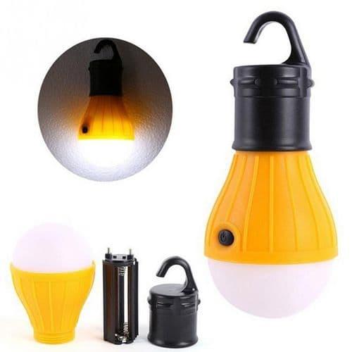 Lampe LED Portable À Suspendre Camping Tente Ampoule Pêche Lanterne Torche YL