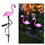 Lampe Led Solaire Flamingo Lumière Lanterne Solaire Décoratif Extérieur 1Pièce