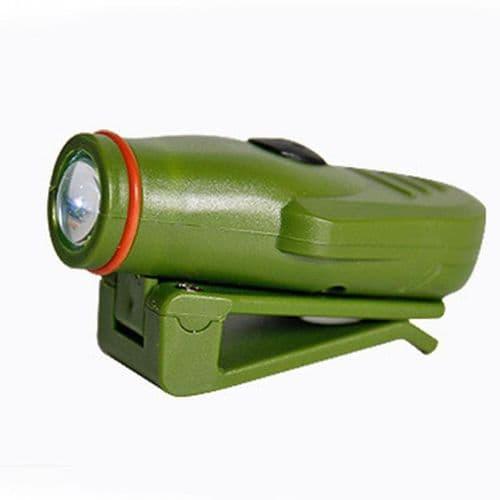 Lampe Torche Lumière LED Pêche Clip-on Casquette Mini Lampe Lumière Torche
