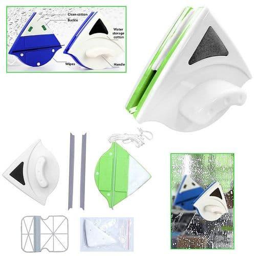 Lave vitre nettoyage double-face essuie vitre brosse de vitre magnétique 15-26mm