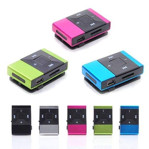 Lecteur De Musique Mp3 Numérique Compact Mini Usb Support 16 Go Carte Sd Tf