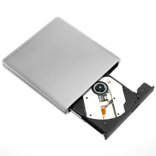 Lecteur Externe Ultra Plat Bluray BD CD DVD Blu-ray ROM SuperSpeed USB 3.0 303