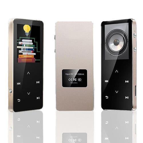 Lecteur MP3 Sans Perte Bluetooth 8 Go Ecran Tactile Radio Enregistreur Vocale