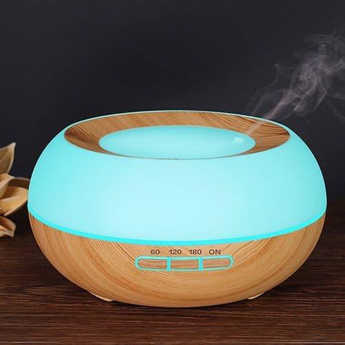 Lumière fraîche humidificateur brume diffuseur d'huile essentielle d'Arôme LED