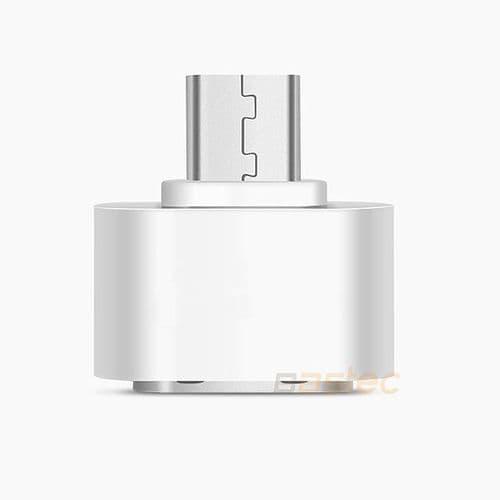 Métal Micro USB Mâle Vers USB 2.0 Femelle OTG Mini Adaptateur Convertisseur