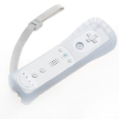 Manette Contrôleur Wiimote pour Console Nintendo Wii Motion Plus Etui Silicone