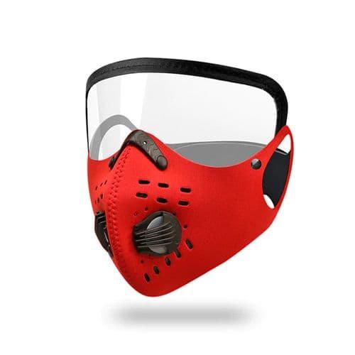Masque Facial De Moto Avec Masque Protecteur Pour Les Yeux Coupe-Vent Ski Rd