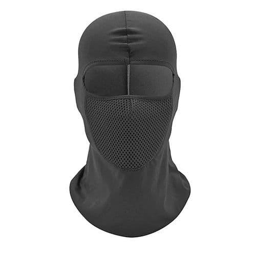 Masque Facial De Moto Respirant Coupe-Vent Cagoule Visage Cou Moto Sport Ski Bk