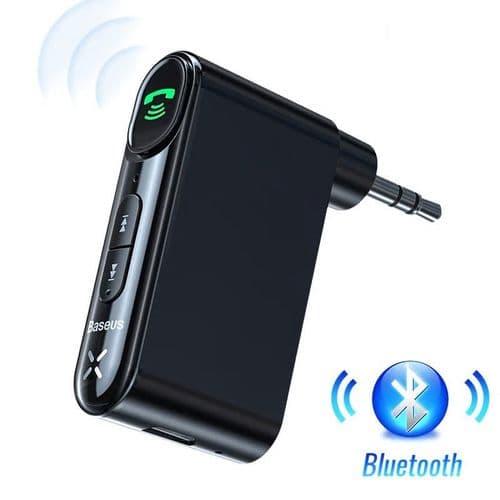 Micro Mains Libres Adaptateur Récepteur Audio Sans Fil 3.5Mm Bluetooth 5.0