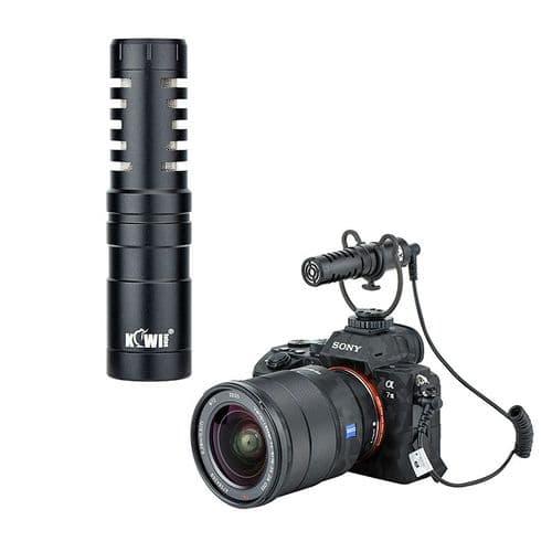 Microphone Cardioïde Km-Vl1 Pour Appareils Photo Reflex Numériques Dslr